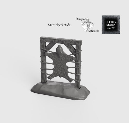 Stretched Hide - 15mm 28mm 32mm Wilds of Wintertide Wargaming Terrain D&D, DnD, Pathfinder, SW Legion, Warhammer