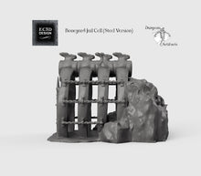 Load image into Gallery viewer, Ribcage Jail Cell - 15mm 28mm 32mm Wilds of Wintertide Wargaming Terrain D&D, DnD, Pathfinder, SW Legion, Warhammer