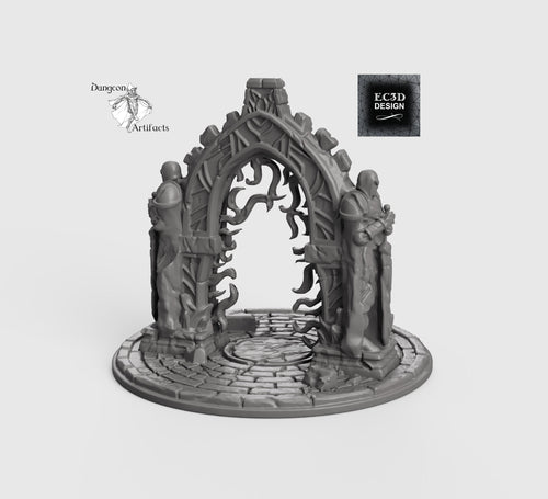 Ancient Portal - 15mm 28mm 32mm Wilds of Wintertide Wargaming Terrain D&D, DnD, Pathfinder, SW Legion, Warhammer