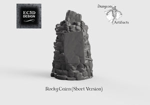 Rocky Cairn - 15mm 28mm 32mm Wilds of Wintertide Wargaming Terrain D&D, DnD, Pathfinder, SW Legion, Warhammer