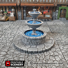 Load image into Gallery viewer, Town Square Accessories - 28mm 32mm Clorehaven and the Goblin Grotto Wargaming Terrain Scatter D&D, DnD, Pathfinder, Warhammer, 40k