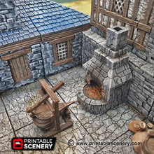 Load image into Gallery viewer, Smithy Tools - Smith Smitty 28mm 32mm Clorehaven and the Goblin Grotto Wargaming Terrain Scatter D&D, DnD, Pathfinder, Warhammer, 40k