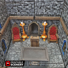 Load image into Gallery viewer, Chapel Chattels - 28mm 32mm Clorehaven and the Goblin Grotto Wargaming Terrain Scatter D&D, DnD, Pathfinder, Warhammer, 40k