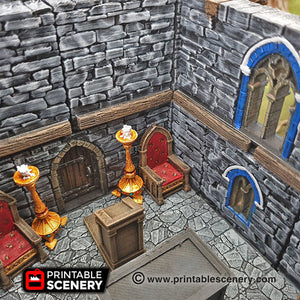 Chapel Chattels - 28mm 32mm Clorehaven and the Goblin Grotto Wargaming Terrain Scatter D&D, DnD, Pathfinder, Warhammer, 40k