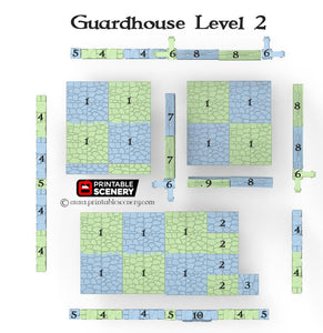 Clorehaven Guardhouse - 28mm 32mm Goblin Grotto Wargaming Terrain D&D, DnD, Pathfinder, SW Legion, Warhammer 40k