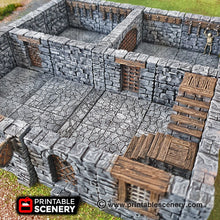 Load image into Gallery viewer, Clorehaven Guardhouse - 28mm 32mm Goblin Grotto Wargaming Terrain D&D, DnD, Pathfinder, SW Legion, Warhammer 40k
