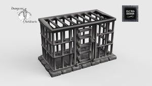 Jail Cell - 28mm 32mm Hero's Hoard Wargaming Terrain D&D, DnD, Pathfinder, SW Legion, Warhammer