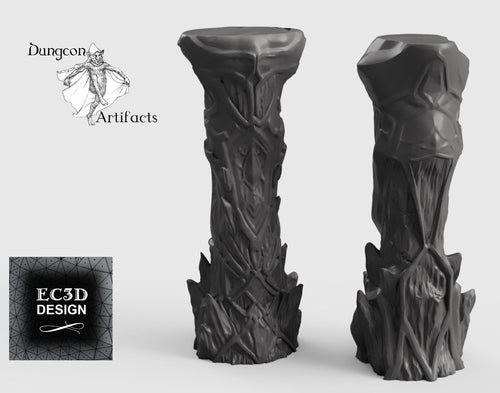 Ice Columns - 15mm 28mm 32mm Wilds of Wintertide Wargaming Terrain D&D, DnD, Pathfinder, SW Legion, Warhammer