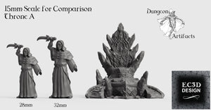 Ice Palace Thrones - 15mm 28mm 32mm Wilds of Wintertide Wargaming Terrain D&D, DnD, Pathfinder, SW Legion, Warhammer