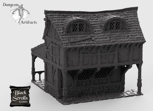 Blacksmith - 15mm 28mm 32mm City of Tarok Wargaming Terrain Scatter D&D DnD Pathfinder Warhammer 40k