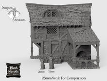 Load image into Gallery viewer, Blacksmith - 15mm 28mm 32mm City of Tarok Wargaming Terrain Scatter D&D DnD Pathfinder Warhammer 40k
