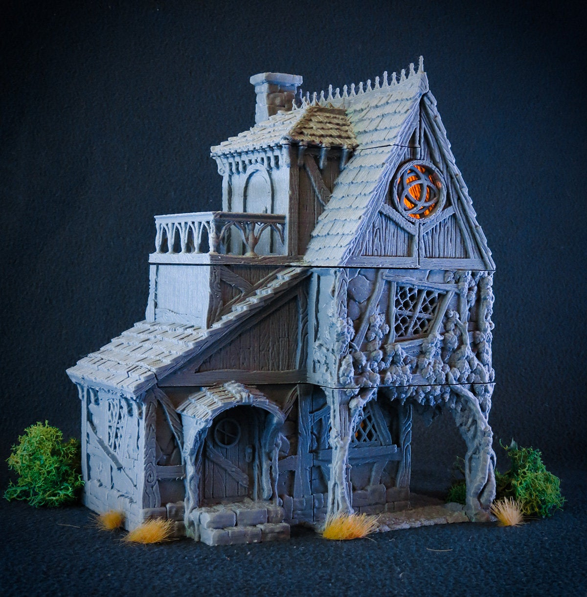 House of the Healer - 15mm 28mm 32mm City of Tarok Wargaming Terrain Scatter D&D DnD Pathfinder Warhammer 40k