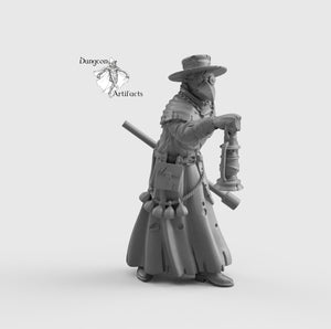 Plague Doctor - Wargaming Miniatures Monsters D&D, DnD, Pathfinder, SW Legion, Warhammer