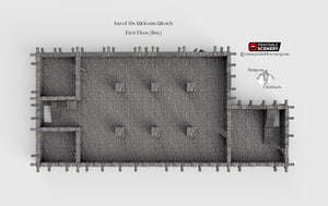 Inn of the Welcome Wench Bar - First Floor Tavern Pub 28mm Clorehaven Goblin Grotto Wargaming Terrain D&D, DnD, Pathfinder, RPG, Warhammer