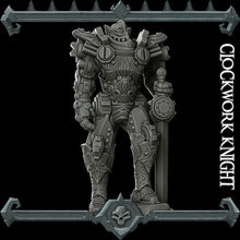 Load image into Gallery viewer, Clockwork Knight - Wargaming Miniatures Monster Rocket Pig Games D&D, DnD, Pathfinder, SW Legion, Warhammer