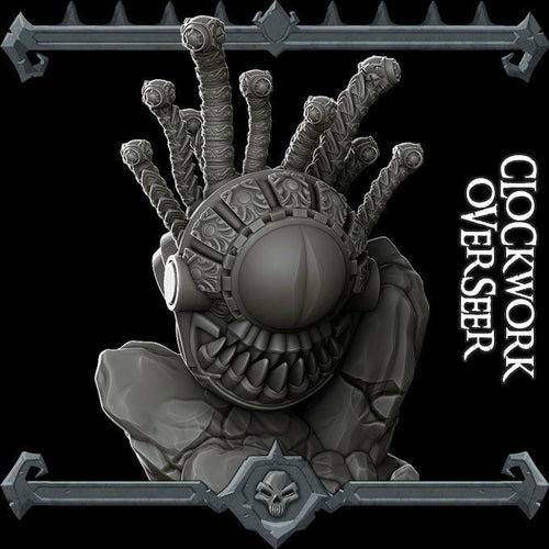 Clockwork Overseer / Beholder - Wargaming Miniatures Monster Rocket Pig Games D&D, DnD, Pathfinder, SW Legion, Warhammer