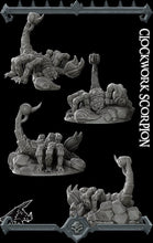 Load image into Gallery viewer, Clockwork Scorpion - Wargaming Miniatures Monster Rocket Pig Games D&D, DnD, Pathfinder, SW Legion, Warhammer