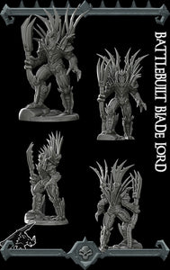Battlebuilt Blade Lord - Wargaming Miniatures Monster Rocket Pig Games D&D, DnD, Pathfinder, SW Legion, Warhammer