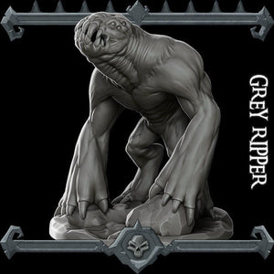 Grey Ripper - Wargaming Miniatures Monster Rocket Pig Games D&D, DnD, Pathfinder, SW Legion, Warhammer
