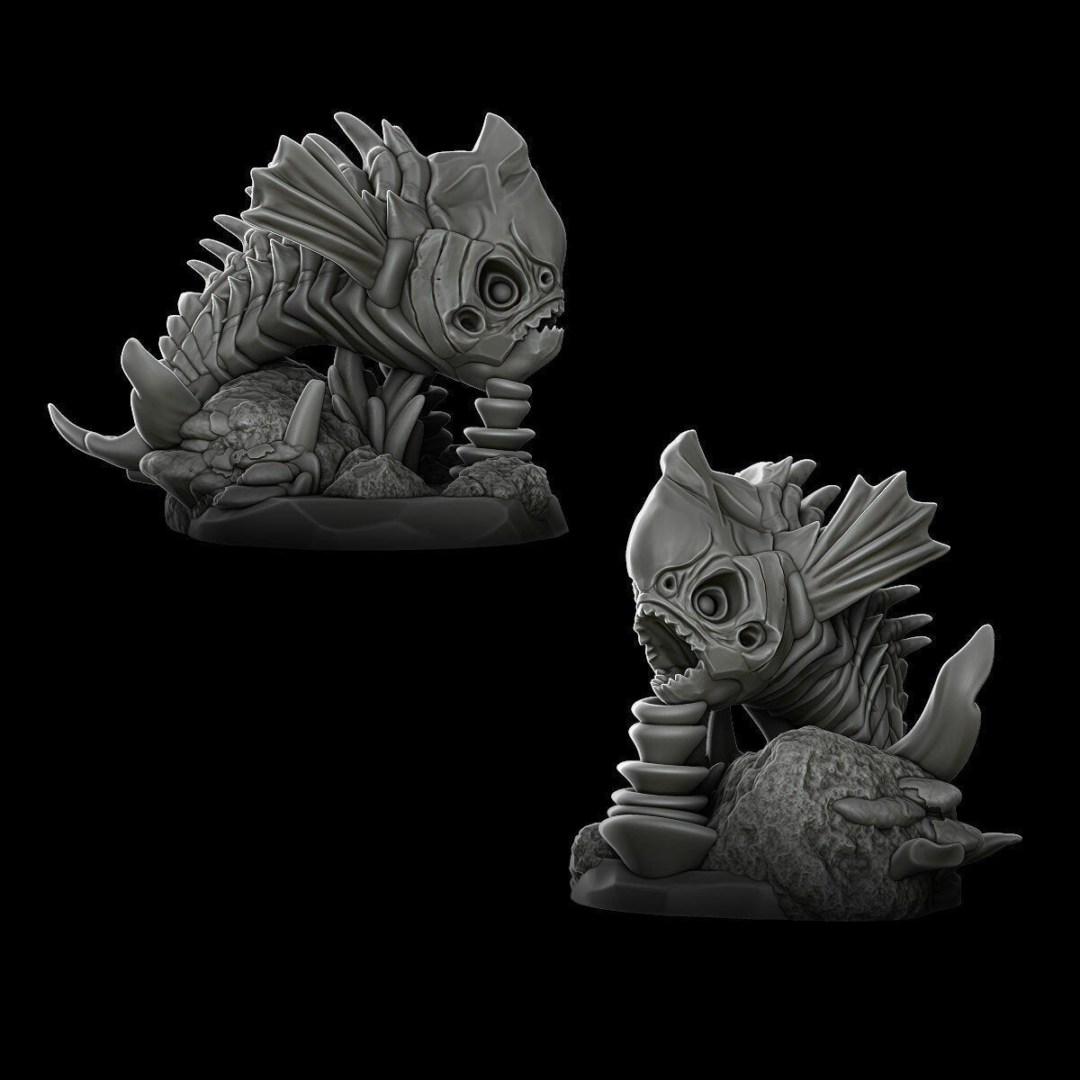 Bone Snappers - Wargaming Miniatures Monster Rocket Pig Games D&D, DnD, Pathfinder, SW Legion, Warhammer