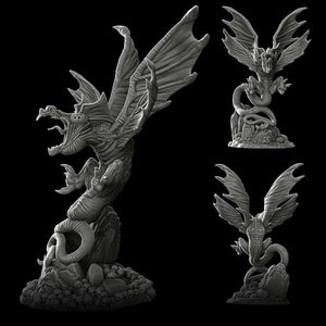 Death Wing - Wargaming Miniatures Monster Rocket Pig Games D&D, DnD, Pathfinder, SW Legion, Warhammer