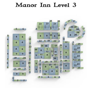 Clorehaven Manor Inn - 28mm Goblin Grotto Wargaming Terrain D&D, DnD, Pathfinder, RPG, Warhammer 40k