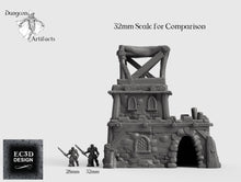 Load image into Gallery viewer, Large Desert House B - 15mm 28mm 32mm Empire of Scorching Sands Wargaming Terrain D&D, DnD, Pathfinder, SW Legion, Warhammer