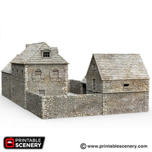 Load image into Gallery viewer, The Farm -  15mm 28mm 32mm Time Warp Wargaming Terrain Scatter D&D, DnD, Pathfinder, Warhammer, 40k