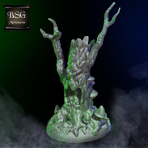 Evil Trees - 15mm 28mm 32mm 42mm City of Tarok Wargaming Terrain Scatter D&D DnD Pathfinder Warhammer 40k