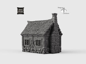 Little Cottage - 15mm 28mm 32mm City of Tarok Wargaming Terrain Scatter D&D DnD Pathfinder Warhammer 40k
