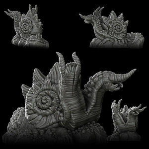 Fortress Slug - Wargaming Miniatures Monster Rocket Pig Games D&D, DnD, Pathfinder, SW Legion, Warhammer