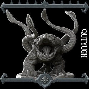 Qutyugh / Otyugh - Wargaming Miniatures Monster Rocket Pig Games D&D, DnD, Pathfinder, SW Legion, Warhammer