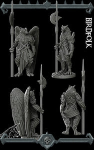 Bird Folk - Aarakocra - Wargaming Miniatures Monster Rocket Pig Games D&D, DnD, Pathfinder, SW Legion, Warhammer