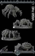 Load image into Gallery viewer, Dire Spider - Wargaming Miniatures Monster Rocket Pig Games D&D, DnD, Pathfinder, SW Legion, Warhammer