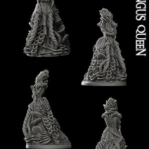 Fungus Queen - Wargaming Miniatures Monster Rocket Pig Games D&D, DnD, Pathfinder, SW Legion, Warhammer