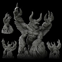 Load image into Gallery viewer, Great Horned Ape - Wargaming Miniatures Monster Rocket Pig Games D&D, DnD, Pathfinder, SW Legion, Warhammer