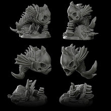 Load image into Gallery viewer, Bone Snappers - Wargaming Miniatures Monster Rocket Pig Games D&D, DnD, Pathfinder, SW Legion, Warhammer