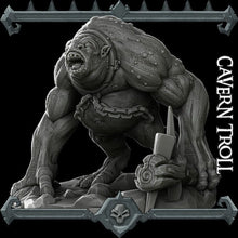 Load image into Gallery viewer, Cavern Troll - Wargaming Miniatures Monster Rocket Pig Games D&D, DnD, Pathfinder, SW Legion, Warhammer