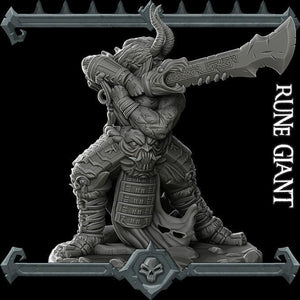 Rune Giant - Wargaming Miniatures Monster Rocket Pig Games D&D, DnD, Pathfinder, SW Legion, Warhammer
