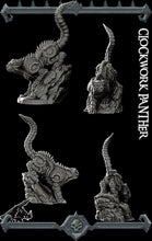 Load image into Gallery viewer, Clockwork Panther - Wargaming Miniatures Monster Rocket Pig Games D&D, DnD, Pathfinder, SW Legion, Warhammer