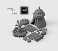 Load image into Gallery viewer, RPG Harem Set - 28mm 32mm Empire of Scorching Sands Wargaming Terrain D&D, DnD, Pathfinder, SW Legion, Warhammer