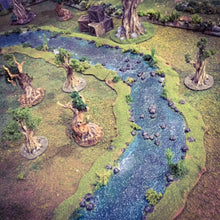 Load image into Gallery viewer, Rivers - OpenLock Rampage Gothic Terrain D&D, DnD, Pathfinder, SW Legion, Warhammer, 40k, Sigmar