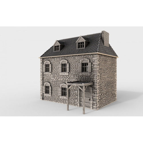 French Farmhouse -  15mm 28mm 32mm Time Warp Wargaming Terrain Scatter D&D, DnD, Pathfinder, Warhammer, 40k