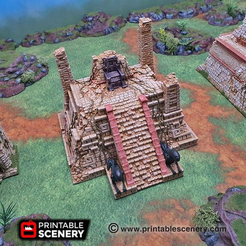 Alien Throne - 15mm 28mm 32mm Brave New Worlds New Eden Terrain Scatter D&D DnD Pathfinder Warhammer 40k