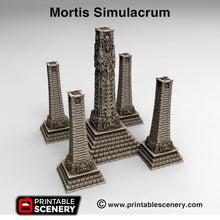 Load image into Gallery viewer, Mortis Simulacrum - 15mm 28mm Brave New Worlds New Eden Wargaming Terrain D&D, DnD, Pathfinder, Warhammer, 40k