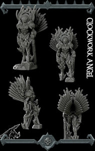 Clockwork Angel - Wargaming Miniatures Monster Rocket Pig Games D&D, DnD, Pathfinder, SW Legion, Warhammer