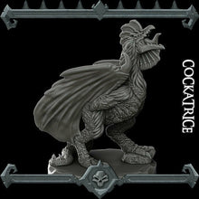Load image into Gallery viewer, Cockatrice - Wargaming Miniatures Monster Rocket Pig Games D&D, DnD, Pathfinder, Warhammer