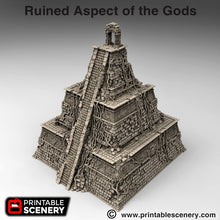 Load image into Gallery viewer, Ruined Aspect of the Gods - 15mm 28mm 20mm 32mm Brave New Worlds New Eden Terrain Scatter D&D DnD Pathfinder Warhammer 40k