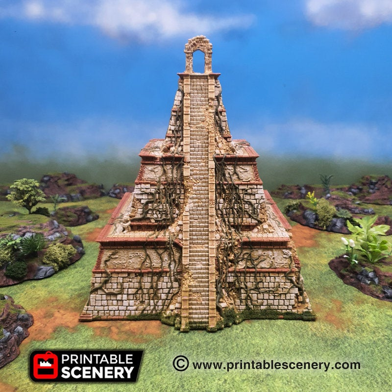 Ruined Aspect of the Gods - 15mm 28mm 20mm 32mm Brave New Worlds New Eden Terrain Scatter D&D DnD Pathfinder Warhammer 40k