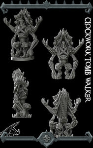 Clockwork Tomb Walker - Wargaming Miniatures Monster Rocket Pig Games D&D, DnD, Pathfinder, SW Legion, Warhammer
